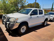 2005 Toyota Hilux SR Dual Cab Manual 4x4 Diesel Wilson Canning Area Preview