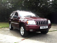 2001 JEEP GRAND CHEROKEE 4.7 V8 AUTOMATIC LIMITED DUAL FUEL LPG PX SWAP SWOP