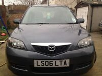 06 MODEL MAZDA 2 MANUAL 1.4 LONG MOT EXCELLENT CONDITION/DRIVE FAULTLESS