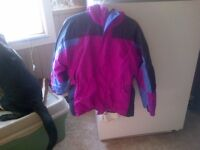 GIRLS COLUMBIA WINTER JACKET, SIZE 14/16 - $40.00