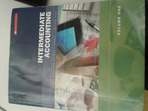 Intermediate Accounting 1 Textbook (ACC415) Good Condition