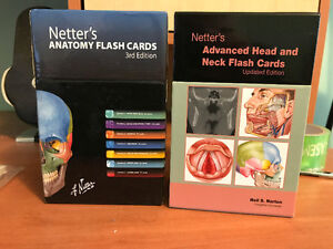 Netter's Anatomy Flash Cards 3rd Edition
