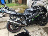 Zx9 track bike