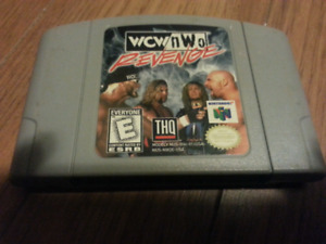 WCW nWo Revenge for the n64