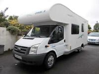 Chausson Flash 03 LHD Six Berth Motorhome with Rear Bunks 6 Belts