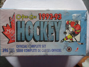 1992-93 Hockey cards