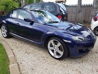 Mazda RX-8 2005 232bhp 9 months MOT. Needs new clutch and engine mounts.