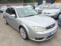 FORD MONDEO 3.0 ST 220 6 SPEED FULL LEATHER SAT NAV 2005 / FULL SERVICE HISTORY / HPI CLEAR