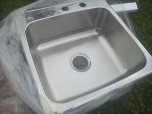 single stainless steel sinks
