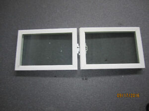 "Replacement basement windows-2 pieces- 14.75 "" x 10.25""each wind"