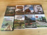 Steam train dvds