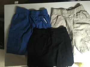 Boys Size 8 shorts and shirts