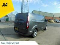 2017 67 FORD TRANSIT CUSTOM 2.0 270 LIMITED SWB LOW ROOF PANEL VAN WITH A/CON, C
