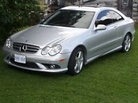 2008 Mercedes-Benz CLK-350 V6 AMG Sports Pkg Low Km Must Sell