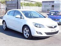 Vauxhall Astra 1.4i 16v SRI 1364cc 2011, White, FSH, 6 Months AA Warranty