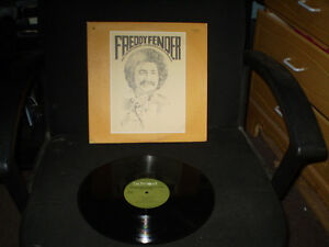 vinyl Freddy Fender/recorder inside louisiana state prison