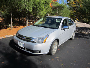 2008 Ford Focus Silver Sedan