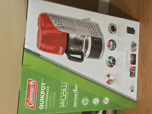 Brand New Coleman Coffee Maker