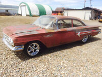 1960 Belair COUPE trade for DRYWALL WORK