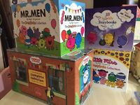 Mr Men, Little Miss and Thomas books