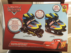 Disney Cars Adjustable Switcher Skates