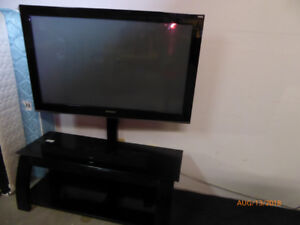 """42"""" Samsung TV with stand"""