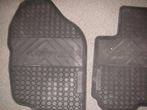 Toyota, Rav 4 all weather floor mats  Color: Black Surface Finis