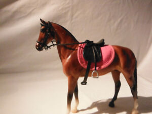 Breyer Horse Black English Saddle