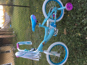 Girls Frozen bicycle