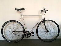 Peugeot fixed gear road bike