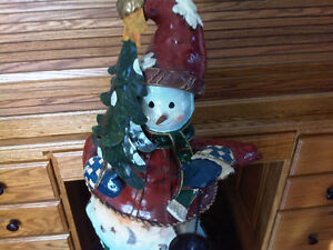 Large Snowman Christmas Decoration