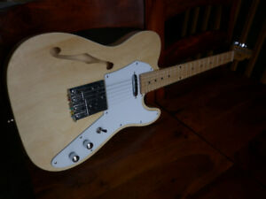 Guitare telecaster natural