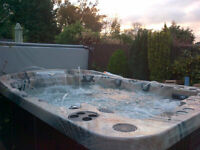 Brand New 8 Person Coast Spa Mirage Curve Hot Tub - 1 Only