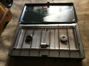 Coleman propane camp stove