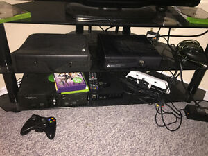 Xbox 360 and original Xbox with mod chip