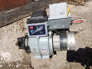 BECKETT OIL FURNACE BURNER MOTOR