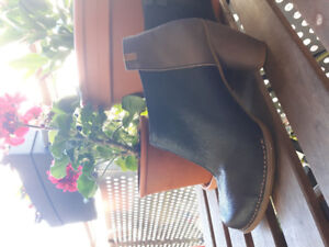 El naturalista leather ankle boots. Worn once. Extra heel caps.
