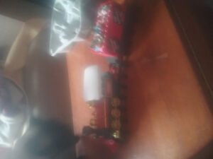 Large Christmas train for christmas tree