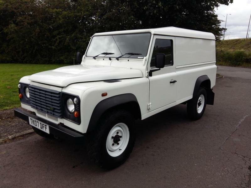 2007 07 reg land rover 110 defender 2 4tdi 4x4 in east. Black Bedroom Furniture Sets. Home Design Ideas