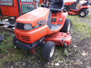 Used TG1860 Kubota Lawntractor