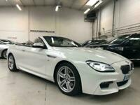 2016 BMW 6 Series 3.0 640d M Sport Auto (s/s) 2dr Convertible Diesel Automatic