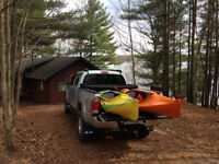 Cottage Rental: Kayaks, SUPs, canoe, rowboat. Wifi, Pet friendly