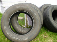4-Tires P-275/65 R/18.Good Condation