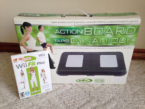 Wii Fit Plus Game and Black Board