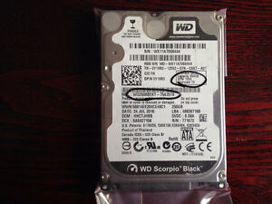"Laptop Disque dur WD Scorpio Black 2.5"" HDD"