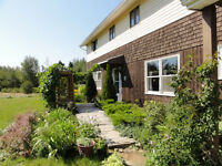 Charming Country Home & 50 Acres New Brunswick, Canada