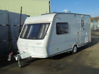 2000 FLEETWOOD COLCHESTER 450-2EB 2 BERTH TOURING CARAVAN TOURER WITH AWNING