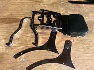 V Star 1100 Sissy bar / Backrest and luggage rack
