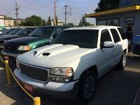 2003 GMC Yukon...... lowered, SAFETIED!!