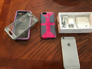 iPhone 6 with cases